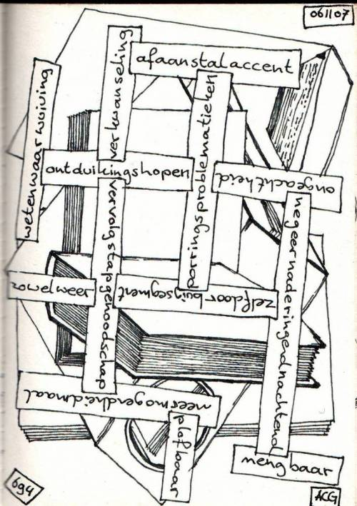poëziecartoon -694- a.c.g. vianen