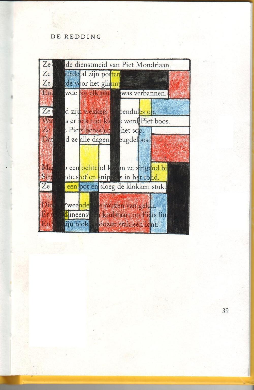 poëzietekening - 31/03/09 - a.c.g. vianen (komrij vs. mondriaan)